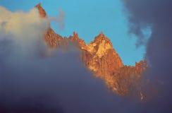 Aiguilles du Chamonix Immagini Stock Libere da Diritti