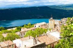 Aiguines, Provence Obraz Royalty Free