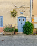 Aiguines in Provence, France Royalty Free Stock Images