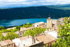 Aiguines, Provence Royalty Free Stock Image
