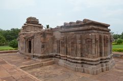Aihole, Karnataka, Indien lizenzfreie stockbilder