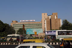 AIIMS - All India Institute Of Medical Sciences Building, New Delhi Stock Photography