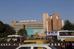 AIIMS - Alles Indien-Institut von den errichtenden Heilkunden, Neu-Delhi Stockfotografie