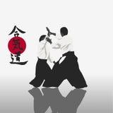 Aikido Royalty-vrije Stock Afbeeldingen