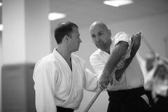 Aikido Image libre de droits