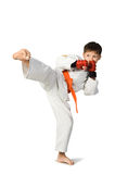 Aikido boy Stock Photos