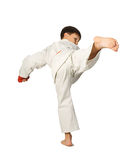 Aikido boy Stock Photo