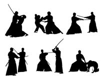Aikido collection Stock Images