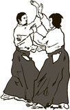 Aikido Royalty Free Stock Images