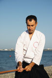 Aikido man Stock Photos