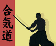 Aikido. Royalty Free Stock Photography