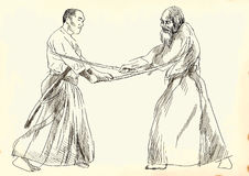 Aikido warriors Stock Photo