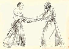 Aikido warriors Stock Photo