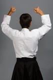 Aikido winner Stock Photography