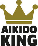Aikidokoning Royalty-vrije Stock Afbeelding