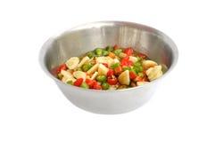 Ail et s/poivron marinés en sauce Images stock