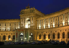 Aile de Burg de Neue de palais de Hofburg à Vienne l'autriche photographie stock