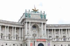 Aile de Burg de Neue dans le palais de Hofburg, Vienne, Autriche photographie stock libre de droits