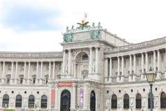 Aile de Burg de Neue dans le palais de Hofburg, Vienne, Autriche image stock