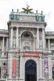 Aile de Burg de Neue dans le palais de Hofburg, Vienne, Autriche images stock