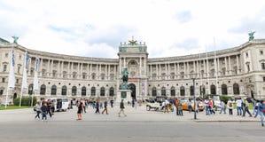 Aile de Burg de Neue dans le palais de Hofburg, Vienne, Autriche photo stock