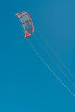 Aile de surfer de cerf-volant Images libres de droits