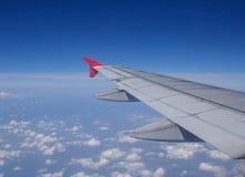 Aile des aéronefs Photo libre de droits