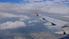 Aile des aéronefs Photo stock