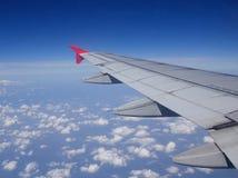 Aile des aéronefs Images stock