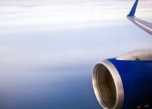 Aile des aéronefs Photos stock