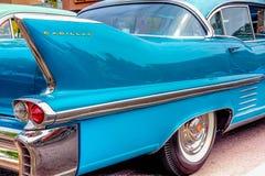 aileron de queue de Cadillac des années 1950 Photographie stock libre de droits