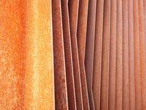 Ailerons rouillés 1 de fer Images stock