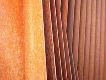 Ailerons rouillés 6 de fer Photo libre de droits