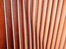 Ailerons rouillés 3 de fer Photographie stock libre de droits