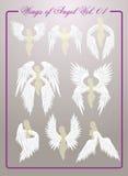 Ailes d'Angel Vol 01 Photo stock