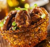 Ailes de chickeh de BBQ Image libre de droits