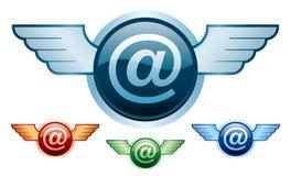 ailes de courrier d'e Image libre de droits