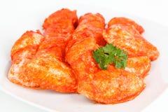 Ailes de poulet épicées Image stock