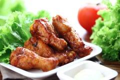 Ailes de poulet Photographie stock