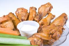 Ailes de poulet Image stock