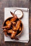 Ailes de poulet Photo libre de droits