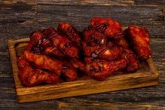 Ailes de poulet de Buffalo photographie stock