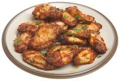 Ailes de poulet de BBQ Images stock