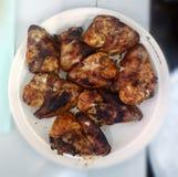Ailes de poulet de BBQ Photo stock