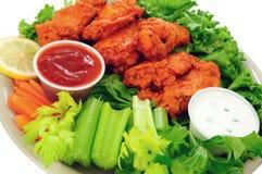 Ailes de poulet de Buffalo Images stock