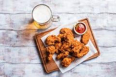 Ailes de poulet de style de Buffalo Photo libre de droits
