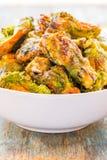 Ailes de poulet grillées Image stock