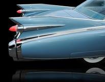 Ailettes de l'eldorado 1959 de Cadillac Image libre de droits