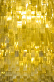 Ailettes en métal d'or Image libre de droits