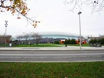 Ailway驻地在史特拉斯堡 免版税库存图片